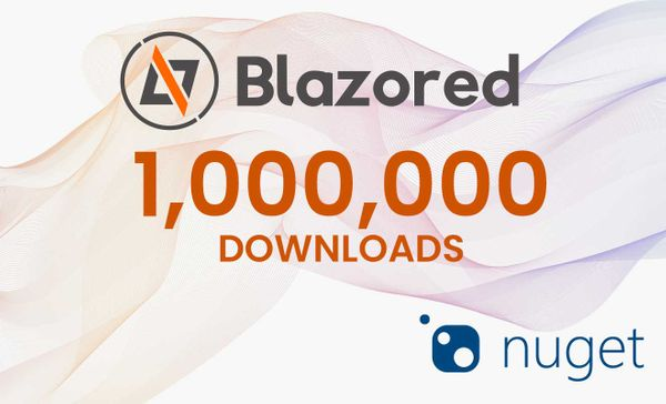 Blazored hits 1,000,000 downloads on NuGet